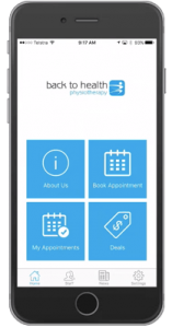 Back To Health Physiotherapy App